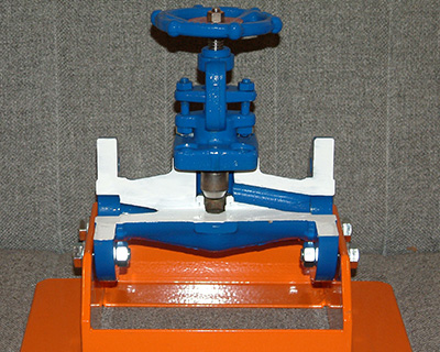 Bench Mounted Valves Training Rig